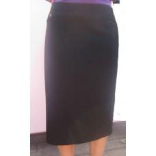 "2"" Elastic Waist Band A Line Skirt"